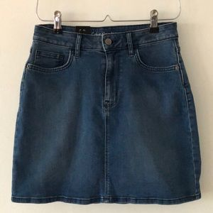 Calvin Klein Jeans Classic Stretch Mini Skirt